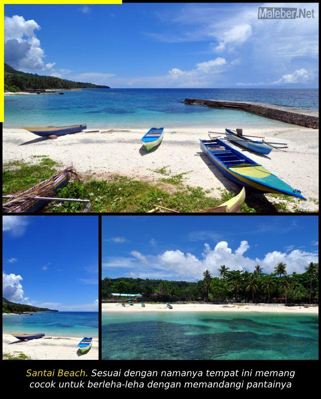 Bersantai di Santai Beach - Latuhalat - Ambon