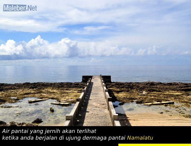 Dermaga Pantai Namalatu-Latuhalat-Ambon