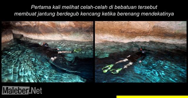 Goa Kristal - Berenang