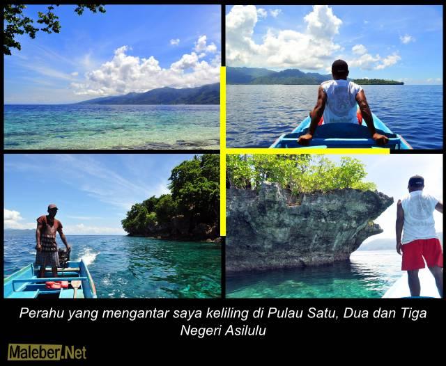 Keliling Pulau Tiga - Asilulu