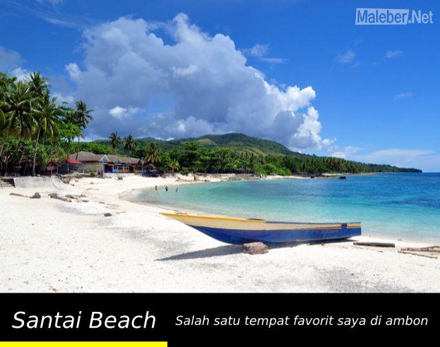 Santai Beach - Latuhalat - Ambon